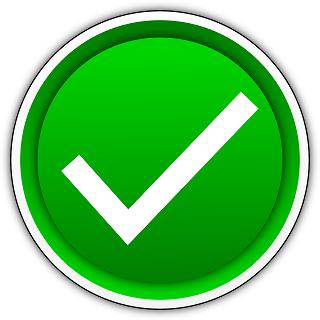 circle green check smallish